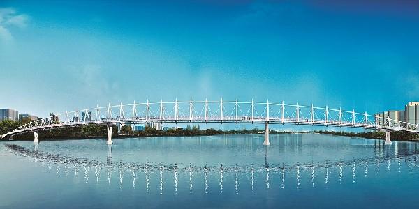 桥的设计图